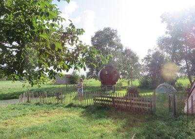 logeren bij la Muze op boerderij bouwlust
